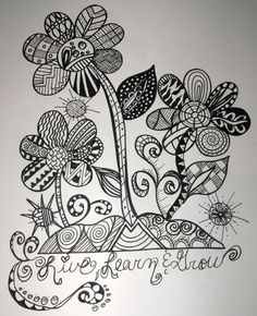 Zentangles Drawn by me check me out on fb Leomaris handicrafts