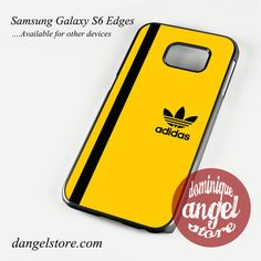 Yellow with black strip adidas Phone Case for Samsung Galaxy S3/S4/S5/