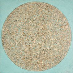 Stefano Maraner.                                   Circle. mixed media/wood/alluminum on table