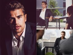 Hugo Boss Interview: Theo James is The Mystery Man