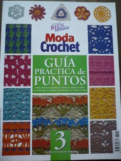 Patrones para Crochet: Guia Practica de Puntos. Num 3 #afs collection