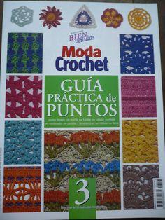 Patrones para Crochet: Guia Practica de Puntos. Num 3 #afs collection