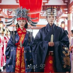 Image in scarlet heart ryeo; moon lovers 🌙 🖤 collection by staaysi Free Korean Movies, Korean Movies Online, Korean Traditional Dress, Traditional Fashion, Traditional Dresses, Modern Hanbok, Korean Drama Best, Asian Men Hairstyle, Korean Wedding
