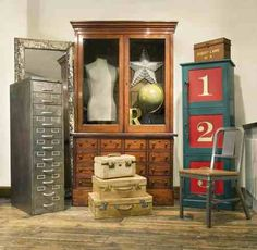 Vintage Filing Cabinet- my dream!