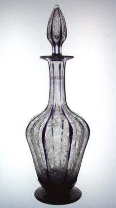 One of a Kind Libbey Amethyst Decanter