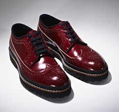 Leather brogues by Marni Casual Leather Shoes, Leather Brogues, Oxfords, Best Shoes For Men, Men S Shoes, Male Shoes, 1950 Shoes, Shoes World, Hats For Men