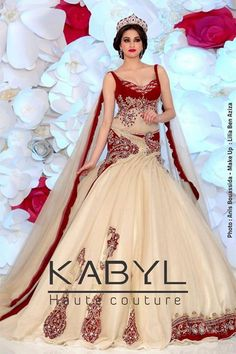 Robe kabyle haute couture