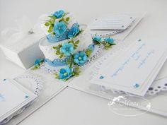 Moja papierowa kraina: Ślubne exploding boxy