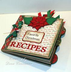 Paperbag Christmas Recipe Album