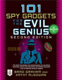 Spy Tools, Cool Tools, Spy Gadgets, Cool Gadgets, Motion Activated Camera, Spy Devices, Genius 2, Electronics Components, Electronics Projects