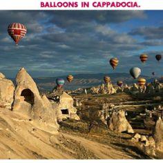 Balloons in Capadoccia