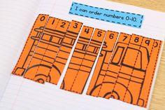 Interactive MATH Notebooks + a FREEBIE! Kindergarten and first grade math notebooks.