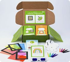 Kiwi Crate $19.99 a month for prepared kids crafts sent to the home.