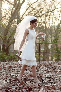 "Tobi Hannah ""Adventure"" #bridal collection: Brave short #wedding dress #weddingdress #weddinggown"