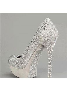 9000a007b35 New Arrival Luxurious Rhinestone Decoration High Heel Shoes SALE  80.29!  shoespie.com Cheap Prom