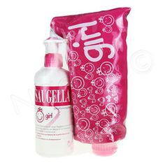 #Saugella Emulsion lavante flacon pompe de 200ml + une trousse flacon offerte.