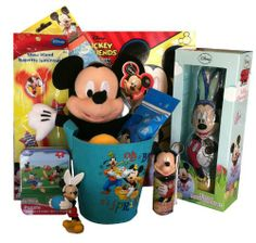 disneys mickey mouse filled easter basket httpmygourmetgiftscom
