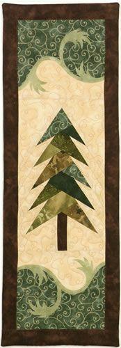 Foundation pieced tree pattern.