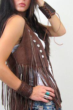 Love this vest and bracelets