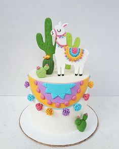 Cake nature fast and easy - Clean Eating Snacks Llama Birthday, Birthday Cake Girls, Birthday Parties, Fancy Cakes, Cute Cakes, Fiesta Cake, Book Cakes, Animal Cakes, Chocolate Decorations