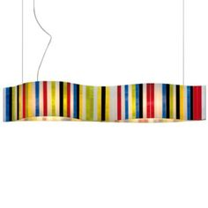 Vento Pop LED Linear Suspension by Arturo Alvarez