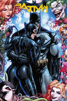 Batman - Catwoman wedding variant cover by Neal Adams, Tyler Kirkham, Eric Basaldua, Greg Horn, and Lucio Parrillo* Batman Poster, Batman Artwork, Batman Wallpaper, Batgirl, Catwoman Y Batman, Catwoman Cosplay, Batwoman, Harley Quinn, Comic Book Wedding