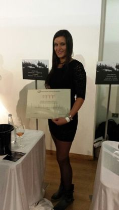 """Today our Superiore di #Cartizze Docg received the award of """"Quattro Viti"""" by the Associazione Italiana Sommelier in Milan"""