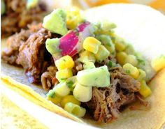 Slow Cooker Short Rib Tacos: Here is an easy dish to prepare for a weeknight family meal.