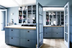 Blue Kitchens With Pitch-Perfect Color Schemes