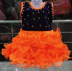 Checkout this latest Frocks & Dresses Product Name: *Diva Fancy Kid's Girls Dresses  * Fabric: Net Sleeve Length: Sleeveless Pattern: Solid Multipack: Single Sizes: 9-12 Months, 12-18 Months, 18-24 Months, 0-1 Years, 1-2 Years (Bust Size: 14 in, Length Size: 20 in)  Country of Origin: India Easy Returns Available In Case Of Any Issue   Catalog Rating: ★4 (491)  Catalog Name: Cute Funky Girls Frocks & Dresses CatalogID_986112 C62-SC1141 Code: 062-6241507-285