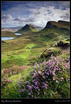The Quiraing , Isle of Skye , Scotland
