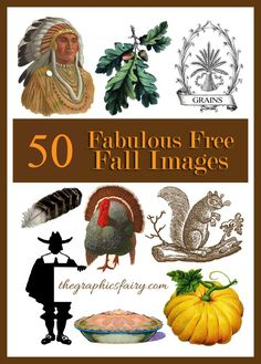 50+ Free Vintage Fall Images