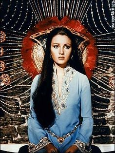 James Bond girl Jane Seymour as Solitaire from Live And Let Die