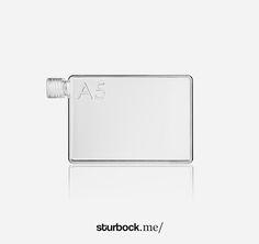 Wasserflasche: http://sturbock.me/portfolio/wasserflasche/