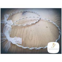 Χειροποίητα στέφανα γάμου...ρομαντικά...vintage...δαντέλα...λινάτσα...πέρλες... Unique wedding crowns...handmade creations for your special day...