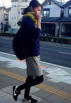冬本番でも履きたい♡スニーカーで冬の抜け感コーデ - NAVER まとめ