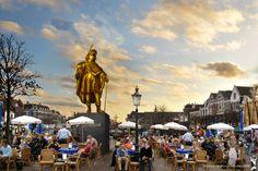 Jeroen Spijker, Rembrandt, burgerinitiatief 2006, Artist's Impression van het beeld op de Beestenmarkt, Leiden