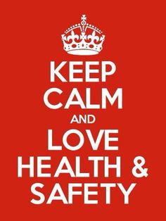 We love health and safety all the while! Safety needs to be a way of life! #love #safety