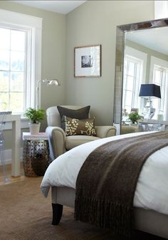 Favorite Benjamin Moore Paint Color | The Best Benjamin Moore Paint Colors: November Rain 2142-60 Cozy cozy ...