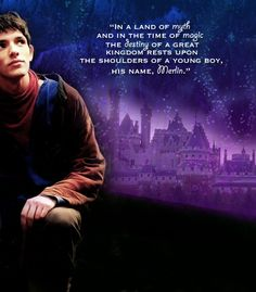 """Merlin graphic!!!! Seriously the best one ever! ♥ Never have I seen such a perfectly edited graphic!"""