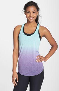 Nike+Dip+Dye+Racerback+Tank+available+at+#Nordstrom