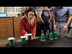 Minute to Win It: On the Rebound (BEAST SQUAD! VS The Justice League!) - YouTube