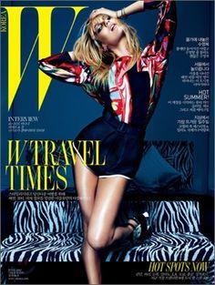 Candice Swanepoel for W Magazine Korea June 2012