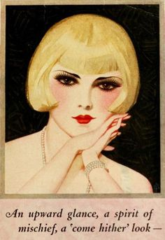 An upward glance, a spirit of mischief, a 'come hither' look: Anything Goes - Celebrating the 20s