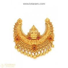 Gold Pendants - View and shop our collection of gold pendants made in India - Indian Gold Jewelry - Buy Online Gold Jewelry For Sale, Gold Rings Jewelry, Pendant Jewelry, Gold Bangles, Jewelry Sets, Gold Temple Jewellery, Gold Jewellery Design, India Jewelry, Gold Pendent