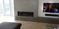 hip & happening woonkamer modern inbouw front rechthoek gas beige