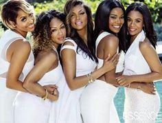 Cast of Think Like A Man Too. (L to R) Lala Anthony, Megan Good, Taraji P. Henson, Gabrielle Union, Regina Hall