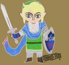 Hyrule Warriors Link by Mattiset