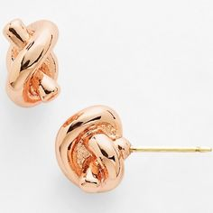 Chic Gifts Under $50 : Expensive Looking And Affordable//#1 kate spade new york sailors knot mini stud earrings