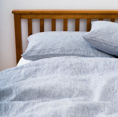 Bedding Upgrade: Linen Duvet Cover: White Seersucker – Shop Fog Linen